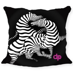 Kissenhülle-Zebra