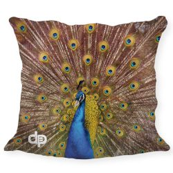 Kissenhülle-Peacock
