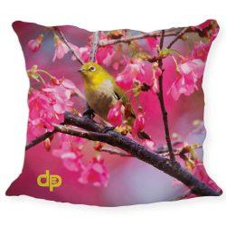 Díszpárnahuzat Yellow Bird