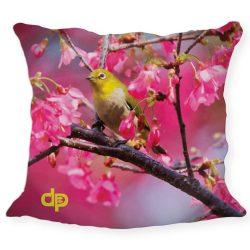 Kissenhülle-Yellow Bird