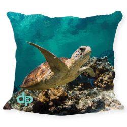 Kissenhülle-Turtle
