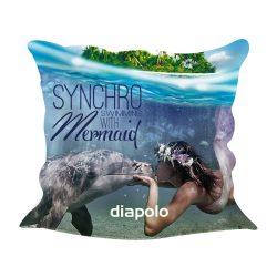 Kissenbezug-Sync mermaid kiss