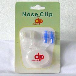 Nasenklammer und Ohrstöpsel in set