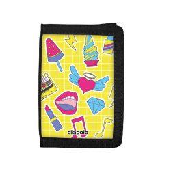 Brieftasche-Retro Stickers Wallet